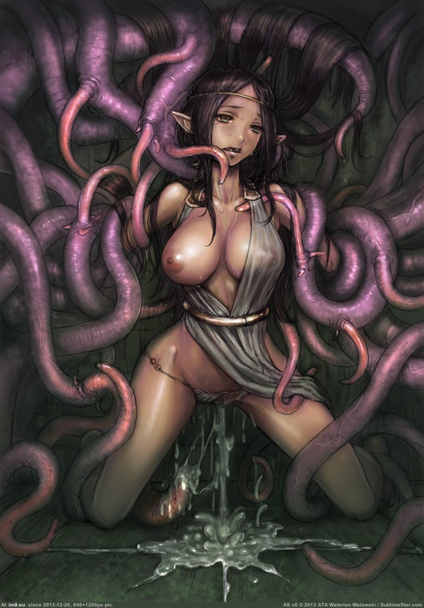 tentacle monster oppai hentai raped