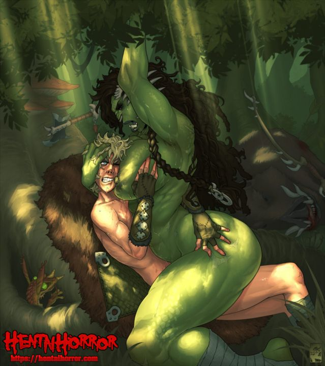 monster hentai orc rape bishonen
