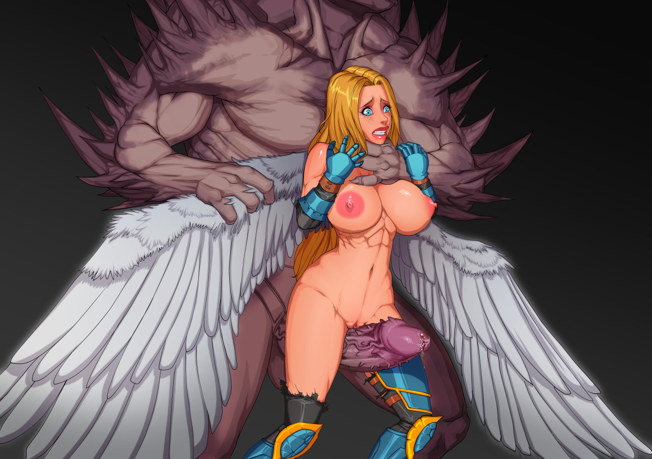 Angels And Demons Full Porn Animation nsfw uncensored busty oppai hentai angel babe with big tits