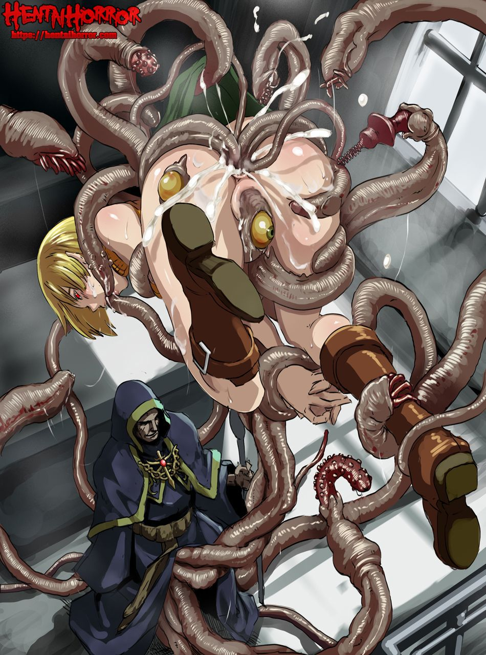 tentacle hentai horror porn art