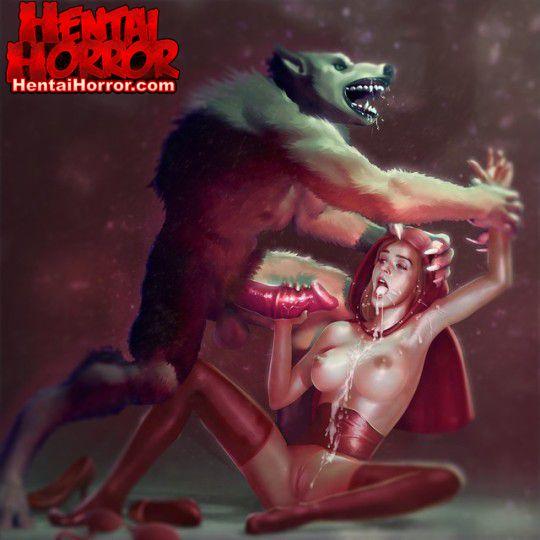 nsfwhorror oppaihentai wolfman monstercock rapeporn