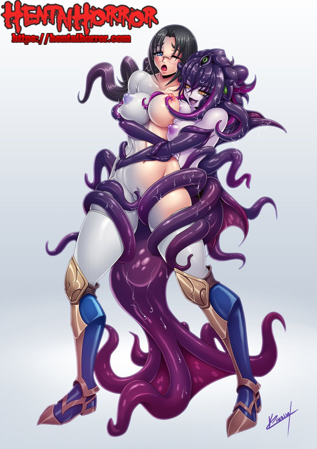 Anim Porn Monster With Big Boobs Hot nsfw uncensored oppai yuri hentai art of big tits asian girl
