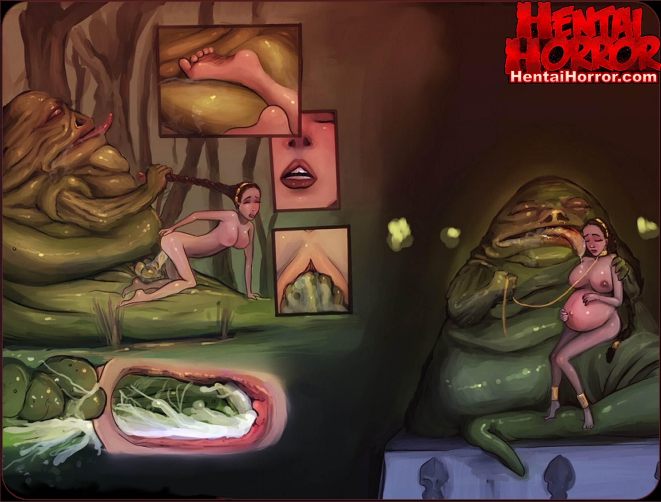starwarsexxxx hentaihorror princessleiajabbathehutt cartoonporn pregopregnant
